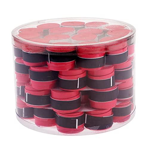 yotijar 50 cintas antideslizantes para raqueta de tenis, color rojo, como se describe