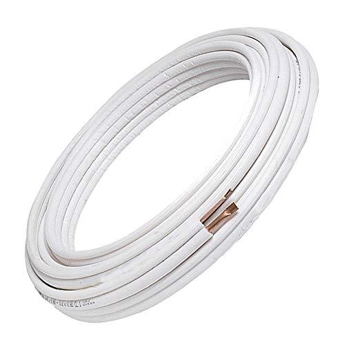 """Tubi Rame Condizionatore Condizionamento Coppia 1/4"""" + 3/8"""" Adatto A Gas R410A R407C R32 (10 Metri (10+10))"""