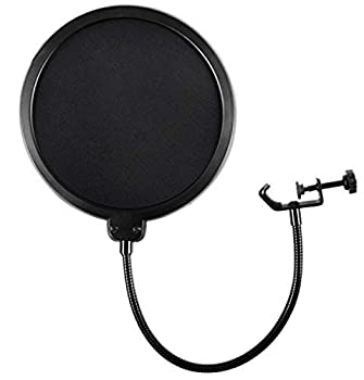microphone with pop filter
