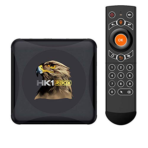 HK1 RBOX R1 Mini Smart TV Box Android 10 Rockchip RK3318 4G 64GB Soporte 1080p 4k Media Google Play YouTube HK1 Caja Conjunto De La Caja Superior(Color:4GB+32GB)