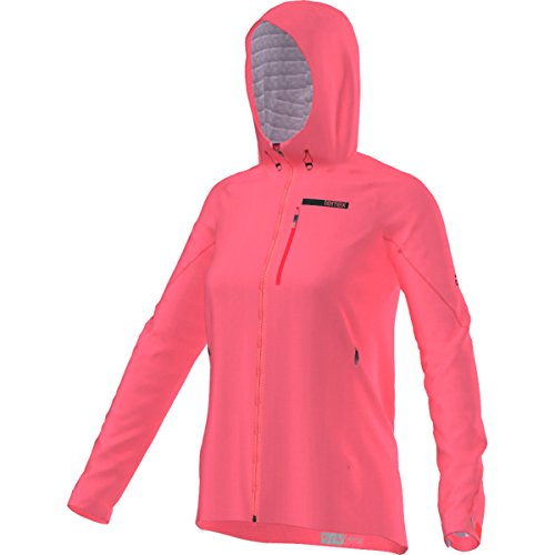 adidas Outdoor Women's Terrex Fastr Gore-Tex Active Shell Hooded Jacket, Super Blush, X-Large