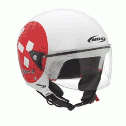 Casco Mds Free Ii Multi Emotion 2012 BLANCO/ROJO T-XS