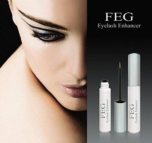 Eyelash Activating Serum & Natürliche Wirkstoffe - Wimpern Booster - Wimpernserum & Augenbrauenserum - Vegan & Hormonfrei - Made in China & 1er Pack (Schwarz)