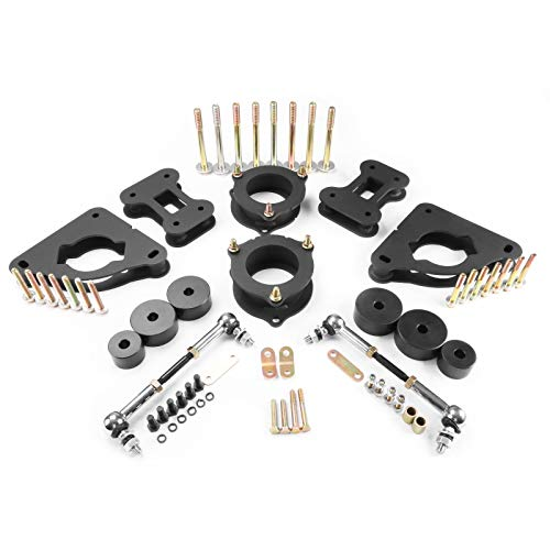 """Takeo Front 2"""" / Rear 1.5"""" Leveling Lift Kit Fits"""