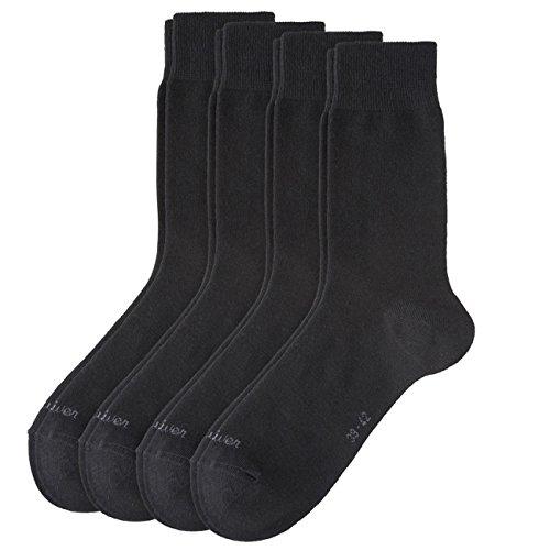 S.Oliver Unisex Classic Socken 8er Pack, Größe:43-46;Farbe:Black (05)