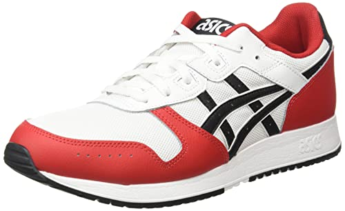 Asics Lyte Classic, Sneaker Hombre, Blanco/Negro, 44 EU