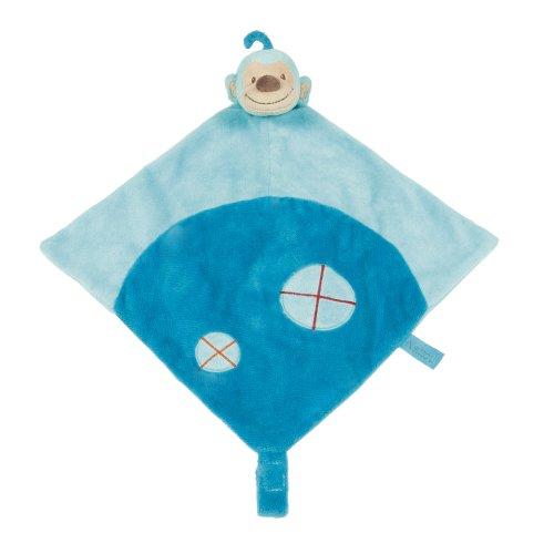 Nattou Doudou Singe Bleu