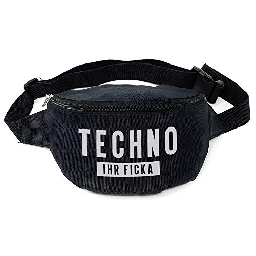 Geile Teile Techno Ficka Hip Bag Bauchtasche