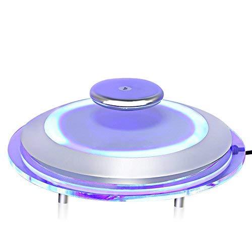 Levitazione Magnetica Piattaforma Magnetico LED Fluttuante Rotante Idee Regalo Decorazione Della Ufficio Casa Rivoluzione Con EZ Galleggiante Float Tecnologia