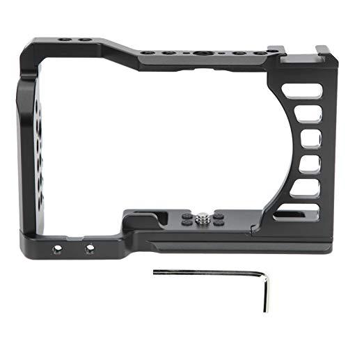 Cámara de aleación de Aluminio Película de Jaula de Video Fabricación de películas Extensión de Disparo Soporte de Disparo para cámara Sony A7C Kit de