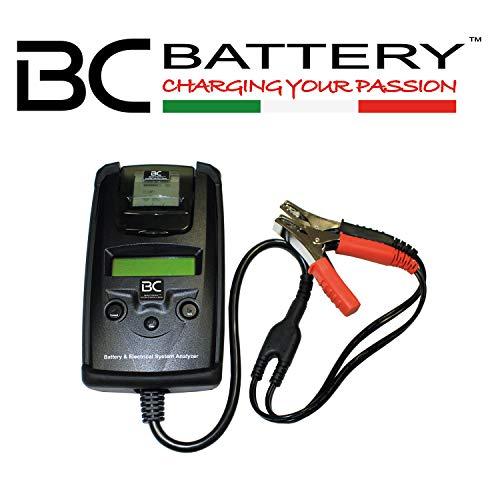 BC Battery Controller 700-BT-03 Comprobador Profesional con Empresora Integrada para todas las baterías 6 V y 12 V