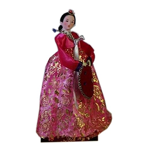 Blancho Korean Ancient Costume Doll Ameublement Articles Oriental Doll, No.5