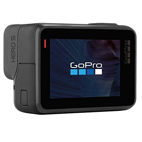 GoPro HERO5 Action Camera Bundle (Includes Casey, Shorty + 16 GB Memory Card) - Black