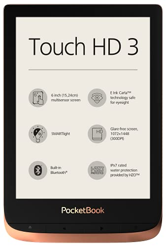 PocketBook PocketBook e-Book 'Touch HD 3 Bild
