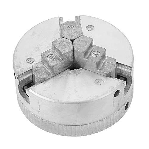 Torno Chuck Mandril de 3 Mordazas Portabrocas Z011 para Mini Torno de Metal,Accesorio de Abrazadera,Resistente al Desgaste, Fuerte y Duradero,Amplio Rango de Sujeción