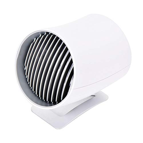 Omabeta Ventilador USB Ventilador táctil Inteligente y Ligero único Ventilador silencioso Inteligente Habitación para baño en casa(#1)