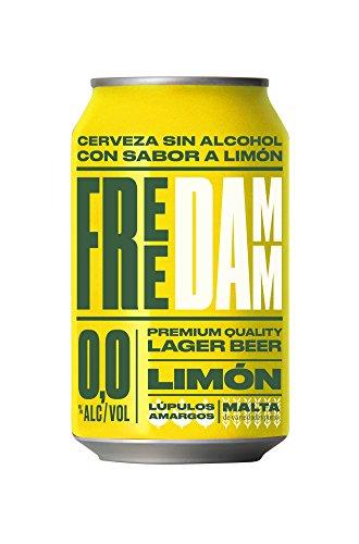 Free Damm Limón - Lata 33 cl