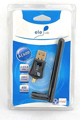 ELE Adattatore WiFi 600 Mbps