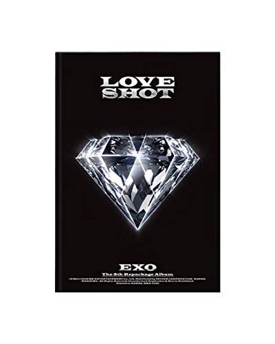 SM Entertainment EXO The 5th Repackage Album Love Shot Reissue (Love Version) CD+Booklet+Photo Card