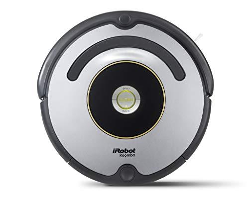 iRobot Roomba 615 Robot aspirapolvere, Adatto a tappeti e Pavimenti, Tecnologia Dirt Detect, Sistema di Pulizia a 3 Fasi, Batteria X-Life da 2200 mAh, Maniglia Integrata, 59.4 dB