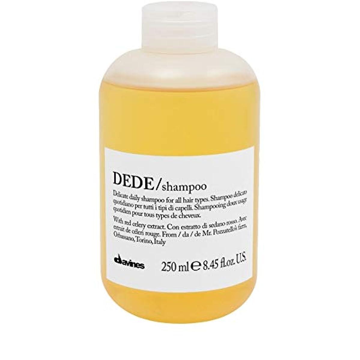 習慣切り離す成果[Davines ] ダヴィネスDedeシャンプー250Ml - Davines Dede Shampoo 250ml [並行輸入品]
