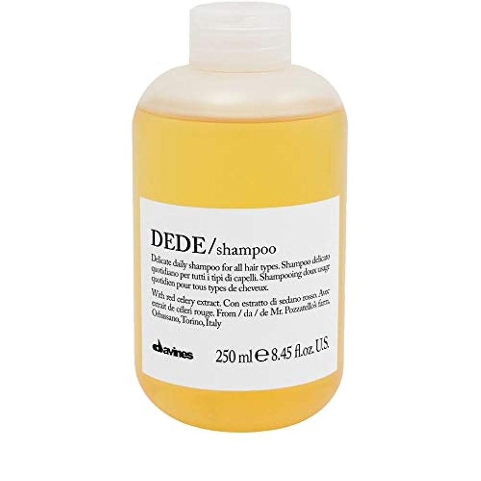 毛皮ノーブル試験[Davines ] ダヴィネスDedeシャンプー250Ml - Davines Dede Shampoo 250ml [並行輸入品]
