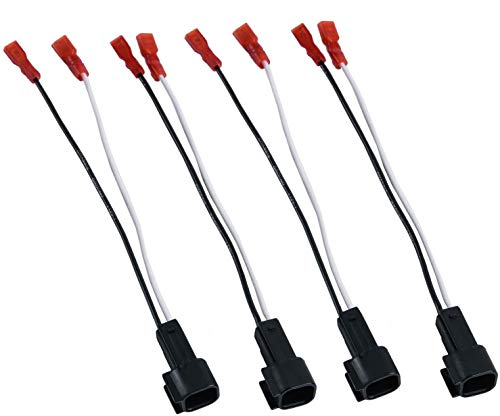 HSTECH 72-5600 2 Pairs (4 Pack) Wire Cable Wiring Harness for Ford Lincoln...