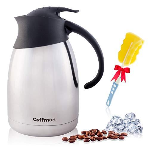 Coffmax Thermal Coffee Carafe Dispenser 51 Oz/ 1.5 L