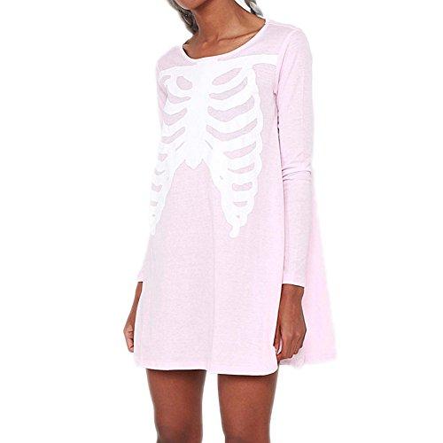 Iron Fist Wishbone Trapeze Dress - Pink Medium