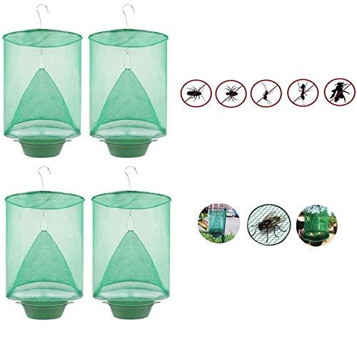 BestTas The Ranch Fly Trap - Trampa para Moscas Al Aire Libre - Killer Bug Cage Net Caballos / -Parque Amplio, Granjas Familiares, Comedores, Restaurantes. (4)