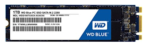 "Western Digital WD Blue SSD interne M.2 1 To - SATA 6 Gbit/s 2,5"""