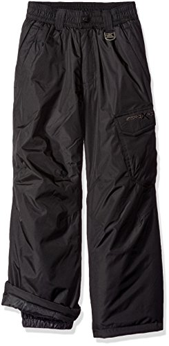 ZeroXposur Boys' Big Platium Snowpants, Black, S-8