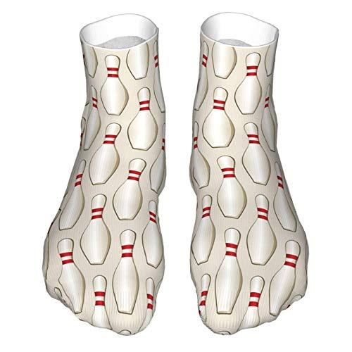 Calcetines de corte bajo que absorben la humedad, calcetines de tobillo deportivos casuales para mujer y hombre bolos suaves calcetines de la tripulación, bota Socklk