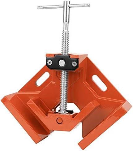 Aluminiumlegering Snelle lichtgewicht Duurzame lasklem haakse klem Thandgreep Timmermansgereedschap voor fixframes Houtbewerking Levering VerbindingsmateriaalOrange