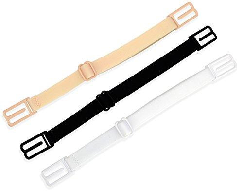 RAZOR Bra Strap Clips Holder Women's (Beige - Black - White)