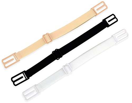 RAZOR Bra Strap Clips Holder Women's (Beige - Black - White)