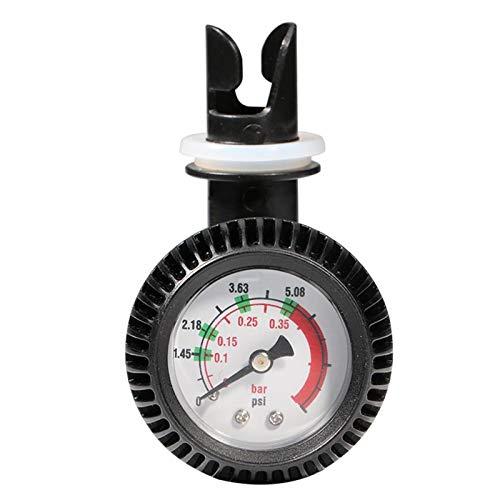 Válvula de drenaje de cobre niquelado Probador de compresión Indicador de presión Tester Automotive kit de motor de gasolina del motor de gas del coche del cilindro manómetro con un adaptador antioxid