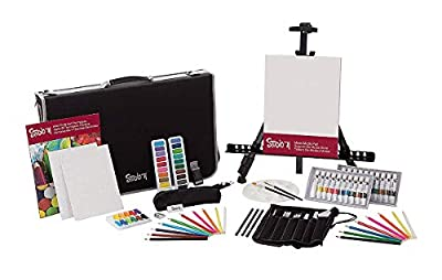 Studio 71 Darice All Media, 101-Piece 101 Piece Art and Easel Set