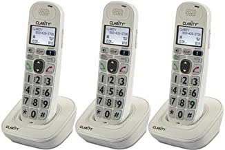 $112 » Clarity D704HS Moderate Hearing Loss Cordless Handset-Bundle (3 Pack)