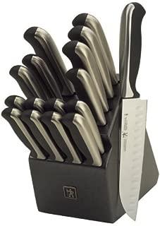 J.A. Henckels International Everedge Plus 17-Piece Knife Block Set