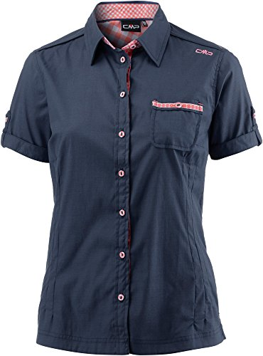 CMP Damen Outdoor Bluse 3T64476 Black Blue, D38