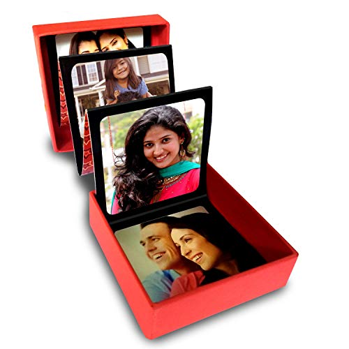 exciting Lives Personalised Photo Strip Gift Box with Printed Pictures