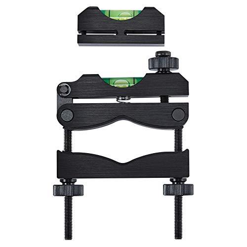HIRAM Reticle Leveling System Firearm Scope Crosshair Alignment Level Tool Kit 2 pc Precision Bubble...