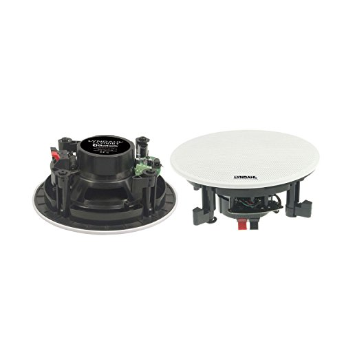 Lyndahl CS200BT MKII, Sistema di Altoparlanti a 2 Vie, Altoparlanti da soffitto con Bluetooth, 1 Paio di Altoparlanti integrati (2 Speaker), Colore: Bianco