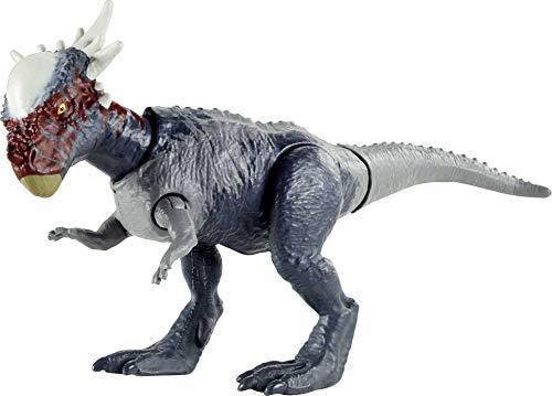 Jurassic World -Dinosauro Stygimoloch Articolato con Coda Attivabile, Giocattolo per Bambini 4+ Anni, GVG49