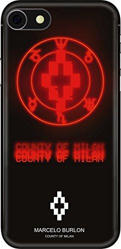 Cover Marcelo Burlon iPhone 8, 7, 6S, 6 - Never Sleep
