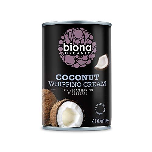 Biona Nata De Coco Para Montar Ecológica 85% Coco - Vegetariano, Vegano, Paleo - 400 g