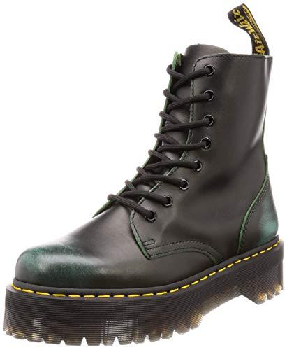 Dr. Martens Womens Jadon 8-Eylet Green Leather Boots 37 EU