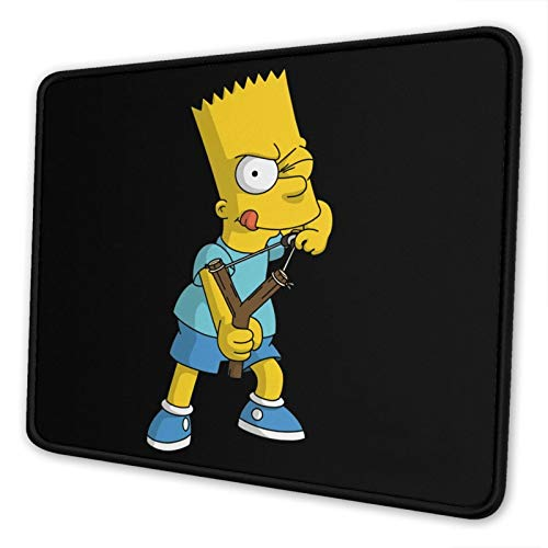 The-Simpsons-Bart Simpson Mouse Pad Mouse Pad Home Office Computer Gaming Mouse Pad 7.9 X 9.5 in