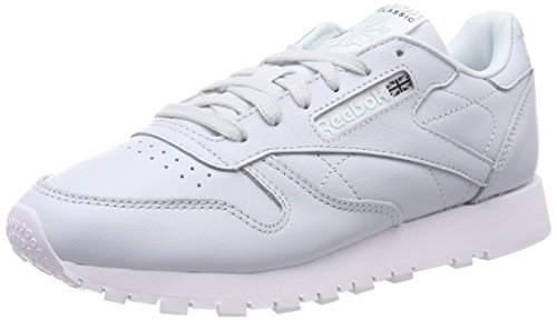 Reebok Damen Classic Leather X Face Laufschuhe, Blau (Reflection Blue/White/Black), 40.5 EU